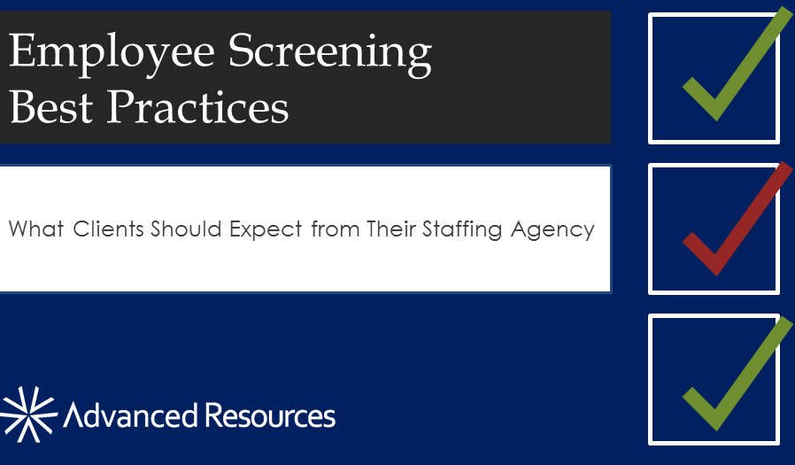 Employee Screening Best Practices [SlideShare]